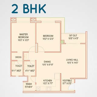 DB Pride 2bhk plot