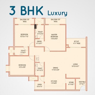DB Pride 3bhk plot